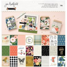 "Pebbles Jen Hadfield The Avenue 12""x12"" Paper Pad 736959"