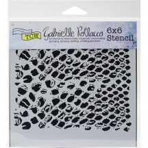 "The Crafters Workshop Gabrielle Pollacco Bubble Wrap 6""x6"" Template TCW741s"