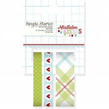 Simple Stories Mistletoe Kisses Christmas Washi Tape 7442