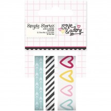 Simple Stories Love & Adore Washi Tape - 7620