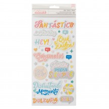 American Crafts Obed Marshall Fantastico Foam & Cardstock Phrase Thickers 34008125