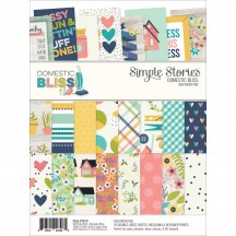 "Simple Stories Domestic Bliss 6""x8"" Double-Sided Paper Pad 7815"