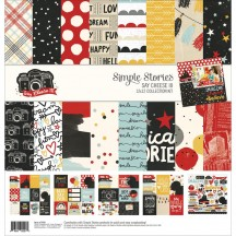 "Simple Stories Say Cheese III 12""x12"" Collection Kit 7900"
