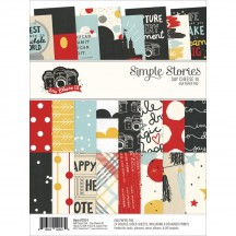 "Simple Stories Say Cheese III 6""x8"" Double-Sided Paper Pad 7914"