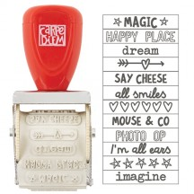 Simple Stories Say Cheese III Phrase Roller Stamp - 7918