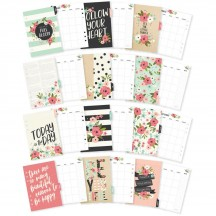 Simple Stories Carpe Diem A5 Bloom Monthly Planner Inserts 7961