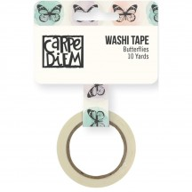 Simple Stories Bliss Washi Tape - Butterflies 7970