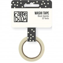 Simple Stories Bliss Washi Tape - Black Speckle 7971