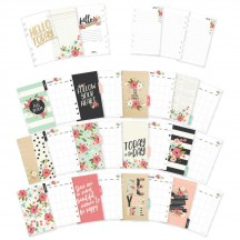 Simple Stories Carpe Diem Bloom Monthly Personal Size Planner Inserts 7990