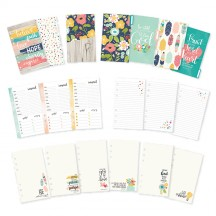 Simple Stories Carpe Diem Faith Monthly Personal Size Planner Inserts 7992