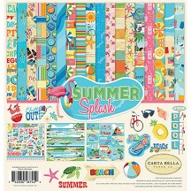 "Carta Bella Summer Splash 12""x12"" Collection Kit CBSPL83016"