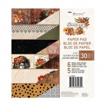 "Prima Diamond 6""x6"" Double-Sided Paper Pad 849849"
