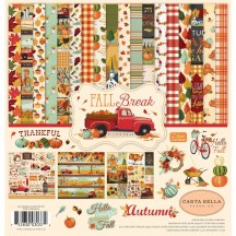 "Carta Bella Fall Break 12""x12"" Collection Kit FA88016"