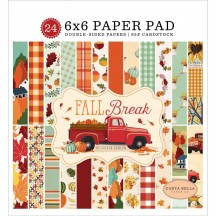 "Carta Bella Fall Break 6""x6"" Double-Sided Paper Pad FA88023"
