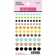 Bella Blvd Cooper Dog Mix Matte Enamel Dots 882252
