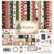 "Carta Bella Christmas 12""x12"" Collection Kit CH89016"
