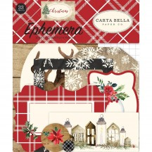 Carta Bella Christmas Icons Ephemera Die Cut Cardstock Pieces CH89024