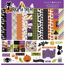 "Photoplay Trick Or Treat 12""x12"" Halloween Collection Pack TT8987"