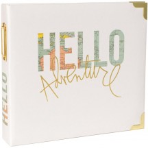 "Heidi Swapp Project Life Hello 8""x8"" Ring Album 312084"
