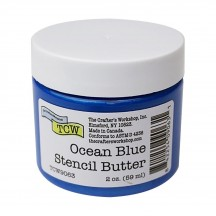 The Crafter's Workshop Ocean Blue Stencil Butter TCW9063