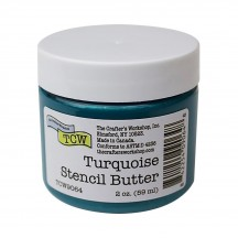 The Crafter's Workshop Turquoise Stencil Butter TCW9064