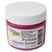 The Crafter's Workshop Fuchsia Pink Stencil Butter TCW9065