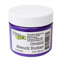 The Crafter's Workshop Orchid Purple Stencil Butter TCW9066