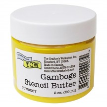The Crafter's Workshop Gamboge Yellow Stencil Butter TCW9067