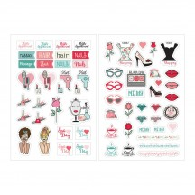 My Prima Planner Julie Nutting Beauty Stickers 912024