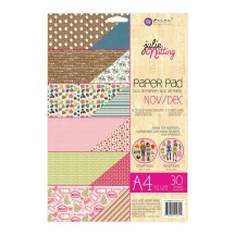 Prima Julie Nutting Dolls November December A4 Double-Sided Paper Pad 30 sheets 912314