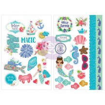 Prima Julie Nutting Mermaid Kisses Stickers 912734