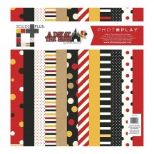 "Photoplay A Day At The Park 12""x12"" Solids Plus Collection Pack ADP9188"