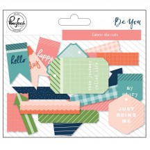 Pinkfresh Studio Be You Fabric Die-Cuts PFBY200918