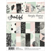"""Simple Stories Beautiful 6""""x8"""" Double-Sided Paper Pad 9214"""