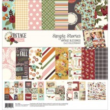 "Simple Stories Vintage Blessings 12""x12"" Collection Kit 9221"