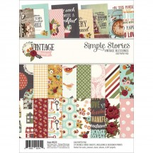 "Simple Stories Vintage Blessings 6""x8"" Double-Sided Paper Pad 9235"