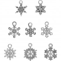 Tim Holtz Idea-ology Christmas Adornments Snowflakes TH93763