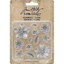 Tim Holtz Idea-ology Adornments - Floral TH93789