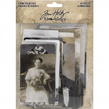 Tim Holtz Idea-ology Found Relatives Cards - TH93798