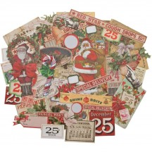 Tim Holtz Idea-ology Christmas Die Cut Ephemera Pack TH93989