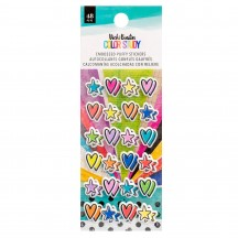 American Crafts Vicki Boutin Color Study Puffy Stickers 34005689