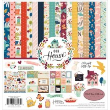 "Carta Bella Our House 12""x12"" Collection Kit CBOH94016"
