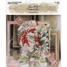 Tim Holtz Idea-ology Christmas Layers & Baseboard Frames TH94017