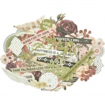 Kaisercraft Gypsy Rose Collectables Die-Cut Pieces CT941