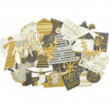 Kaisercraft First Noel Collectables Die-Cut Christmas Pieces CT946