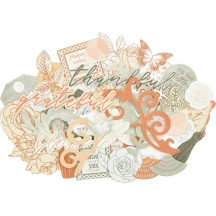 Kaisercraft Peachy Collectables Die-Cut Pieces CT947