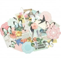 Kaisercraft Scrap Studio Collectables Die-Cut Pieces CT948