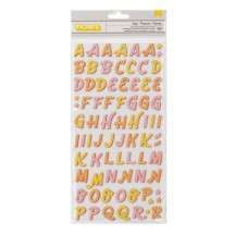 American Crafts Obed Marshall Fantastico Foam & Cardstock Alpha Letter Thickers 34008124