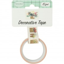Carta Bella Flower Market Flower Pots Decorative Washi Tape MK96026