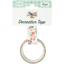 Carta Bella Flower Market Flower Bouquet Decorative Washi Tape MK96027